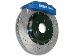 Baer Shelby Pro Plus Brake System: Front (2005-2014)