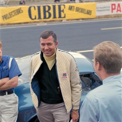 1965 Carroll Shelby at Le Mans Archival Paper