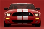 2007 Shelby GT500 Framed Print with Double Mat