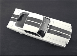 1964 First Shelby GT350 (top view) Canvas Art