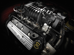 2007 Shelby GT500 Engine Canvas Art