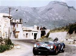 1964 Targa Florio with Dan Gurney Framed Print with Double Mat