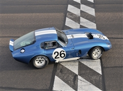 1965 Cobra Daytona #26 Framed Print with Double Mat