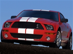 2007 Red Shelby GT500 Canvas Art