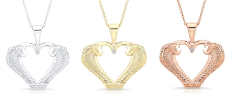 Women's Super Snake Heart Necklace