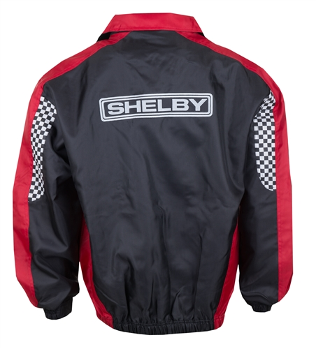 Checkered Flag Red and Black Jacket