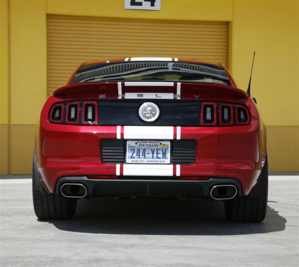 Shelby GT500 Super Snake Borla Exhaust (axle back set) (2013-2014)