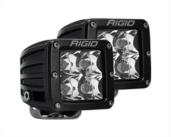 RIGID D-SERIES PRO SPOT DIFFUSED SURFACE MOUNT BLACK