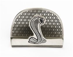 Shelby Pewter Business Card Holder