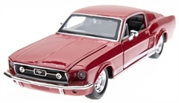 1:24 1967 Red Mustang GT500 Diecast