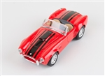 1:24 1965 Red Shelby Cobra 427 Diecast
