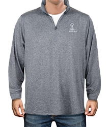 Athletic Heather Performance 1/4 Zip