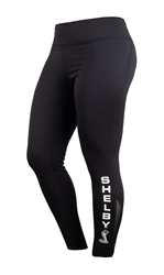 Ladies Shelby Active Lifestyle Black Pant