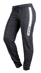 Ladies Shelby Knit Terry Black Joggers