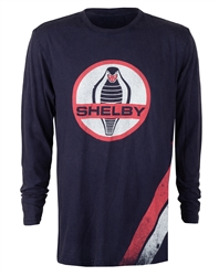 Long Sleeve Shelby Cobra Admiral Blue Tee