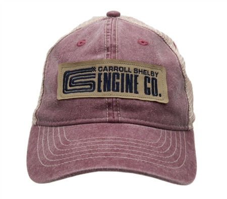 CS Engine Burnt Henna Hat