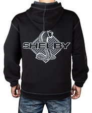Carbon Print Shelby Snake Black Pullover Hoody