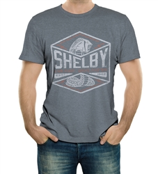 Shelby Bolt Live Fast Drive Faster Dark Heather Tee