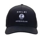 Shelby American Black Mesh Back Hat