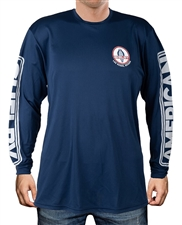 Shelby American Navy Long Sleeve Tee