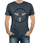 Shelby Steering Wheel Grey Tee