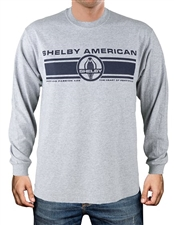 Shelby Pride Men's Grey Long Sleeve T-shirt