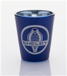 Shelby Cobra Las Vegas Blue Shot Glass