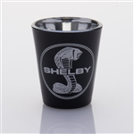 Shelby Snake Black Shot Glass