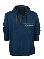 Shelby American Packable Blue Jacket