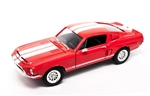 1:18 1968 Red Shelby Mustang GT500KR Diecast