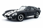 1:18 1965 Matte Black Shelby Cobra Daytona Coupe #8 Diecast