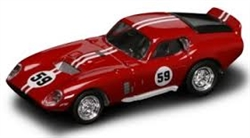 1:43 1965 Red Daytona Coupe Diecast