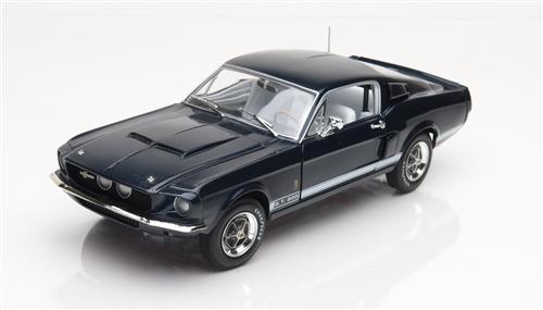 1:18 1967 Shelby GT500 Nightmist Blue Diecast