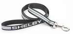Striped Leash w/ Shelby on Handle