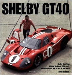 """Shelby GT40"" Book"