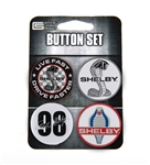 Shelby Button 4 Pack
