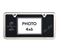 Black Shelby License Plate Picture Frame
