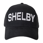 Shelby 3D Black Hat