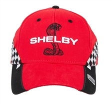 Shelby Snake Red Checkered Race Hat