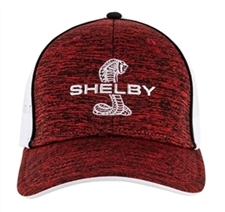 Shelby Red & White Performance Cap