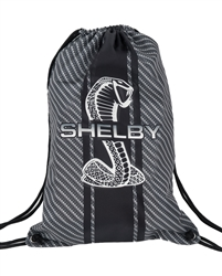 Sublimated Carbon Fiber Drawstring Bag