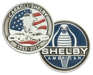 SOLD OUT- Carroll Shelby Limited Edition Coin