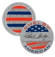 Shelby American Military Challenge Coin