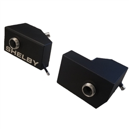 2005-2010 Shelby Extreme Duty Coolant Reservoir Tanks (BLACK)
