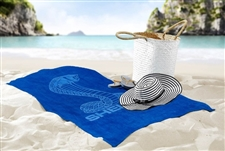 Shelby Heavyweight Royal Blue Cotton Towel