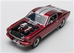 1:18 1965 Shelby GT350R Red Diecast and Engine Blower