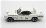 1:18 1967 #33 White Shelby Racing Co Tribute Diecast