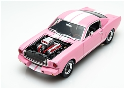 1:18 1965 Pink Shelby GT350R Diecast and Engine Blower