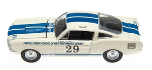 1:64 1965 White Shelby GT350 #29 Diecast