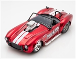 "1:24 1965 Red Shelby Cobra 427 S/C ""Snake Bite"" Diecast"